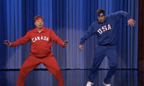 mike myers canada mike myers stars in epic dance off against jimmy fallon