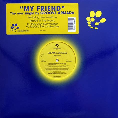 groove armada my friend groove armada my friend 12 quot curto vinil loja de
