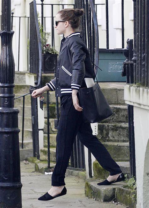 emma watson house london emma watson street style leaves her house in london