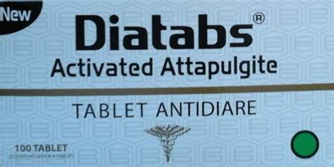 New Diatabs Tablet Antidiare 4 S new diatab kegunaan dosis efek sing dll aladokter