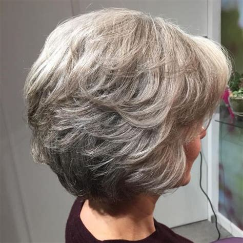 hairstyles for coarse gray hair 90 classy and simple short hairstyles for women over 50