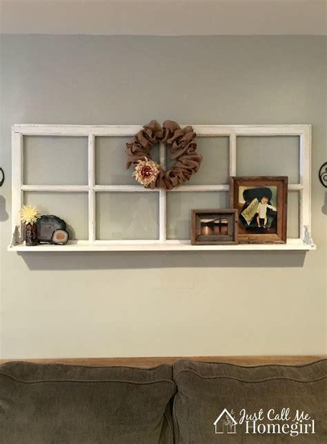 The Shelf Windows by Adding A Shelf To An Window Just Call Me Homegirl