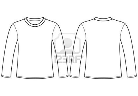 12 Long Sleeve Blank T Shirt Template Psd Images Long Sleeve Blank Shirt Template Long Sleeve Template