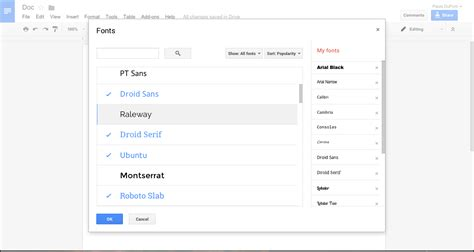 What Is Best Resume Font by 40 Google Docs Tips To Become A Power User