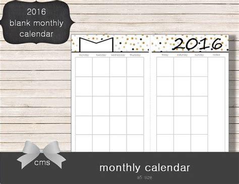 usable calendar template 17 best ideas about blank monthly calendar on