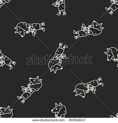 how to create paladin in doodle god doodle seamless pattern background stock vector