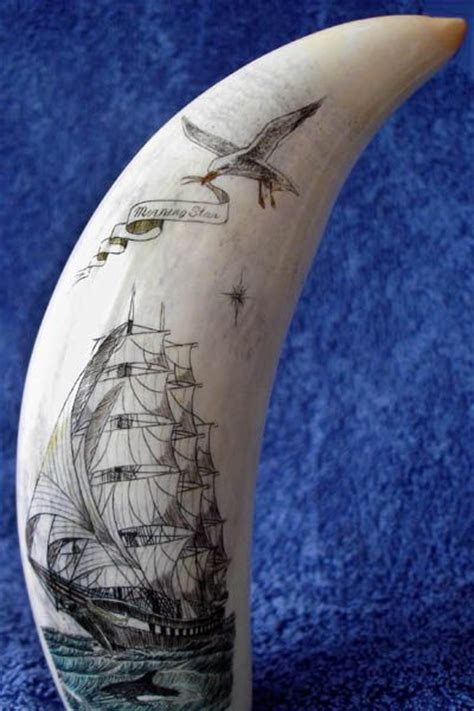 scrimshaw tattoo captain budd s scrimshaw pieces the lost of