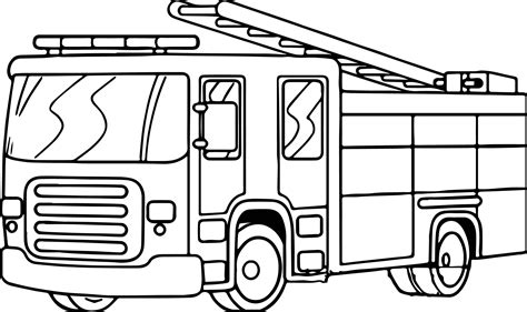 fire truck coloring pages to download and print for free fire truck free download coloring page wecoloringpage