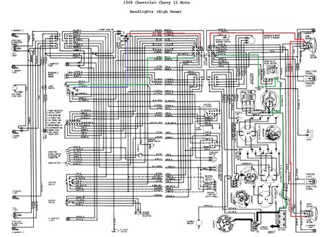 1968 chevy wiring diagram wiring diagram with