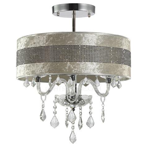 modern semi flush ceiling lights modern ceiling lights with semi flush fabric shade