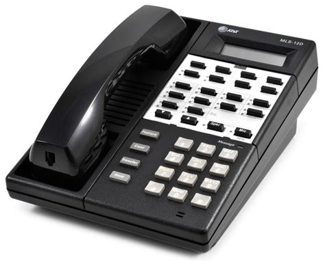 Hp Panasonic P 66 avaya mls 12d black display phone