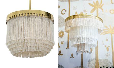 diy boho fringe chandelier jungalowjungalow