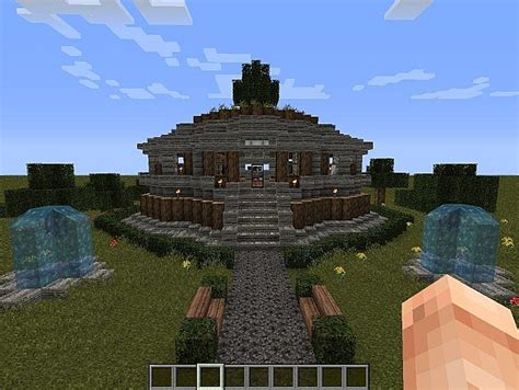 simple  nice house minecraft project