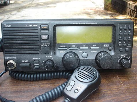 Icom M710 icom ic m710 ssb marine radio for sale the hull