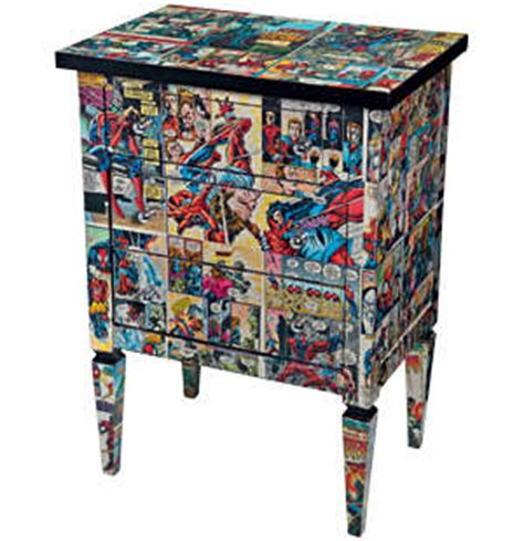 Book Furniture by Comic Book Furniture Do It And How