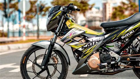 Suzuki Satria F150 Hyper Underbone suzuki satria f150 hyper underbone til jiwa muda apritos