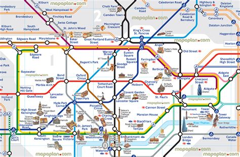 map of underground stations maps update 24001573 tourist map with