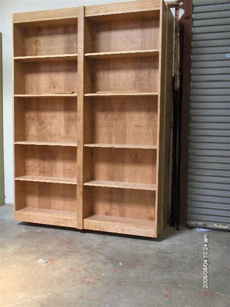 bookcase murphy bed plans pdf woodworking