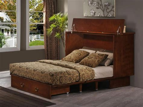 Beds That Fold Up In A Cabinet by Convertible Cabinet Bed This Bed Fold Up Small Into A
