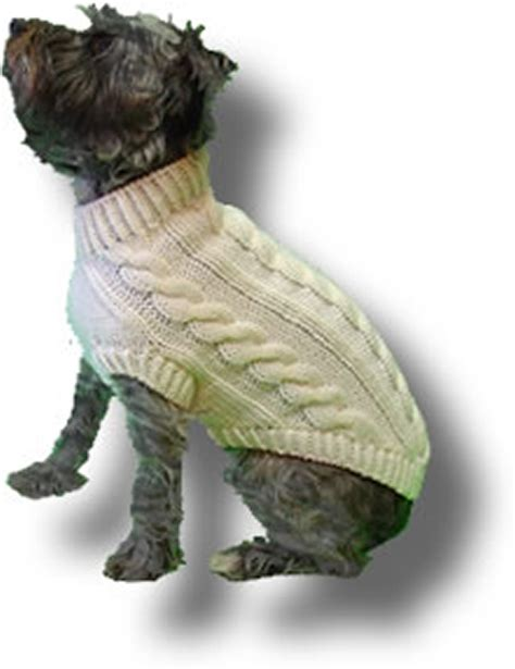 wool pattern for dog coat original knit dog sweater patterns