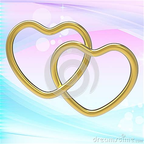 Wedding Ring Represents by Wedding Rings Represents Shapes And Eternity Stock