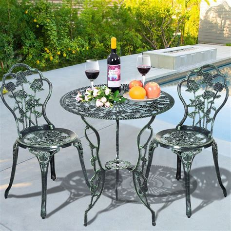 3 bistro table 3 bistro patio sets reviews outdoor patio