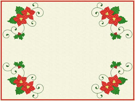layout design for christmas designs in stitches christmas scrolls 1 layout s