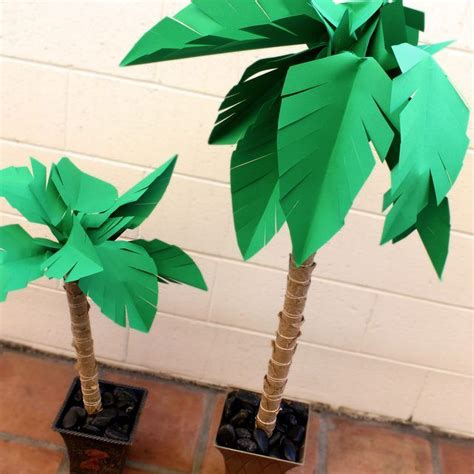 A Paper Tree - 25 best ideas about paper palm tree on luau