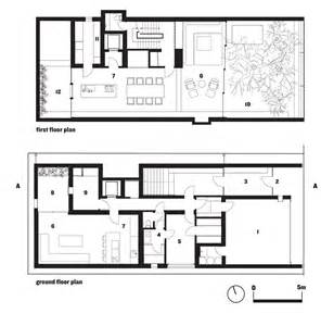 hiroshi nakamura optical glass house nap architect floor plans from the glass house brochure 2