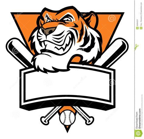 mascot clipart baseball tiger mascot clipart