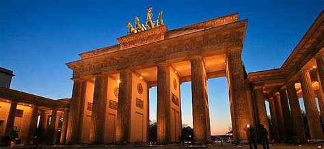 la porta di brandeburgo porta di brandeburgo berlino