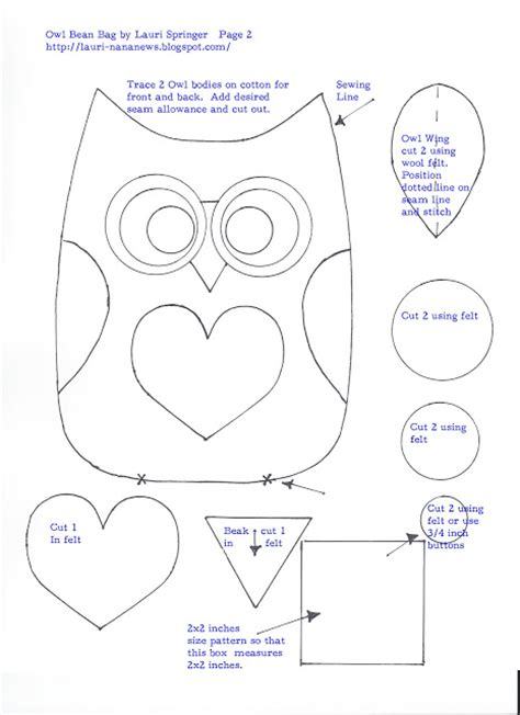 small owl template preparing for 3 go and do