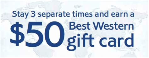 Best Western Gift Card - get a 50 jump on summer with best western gift card promotion points miles martinis