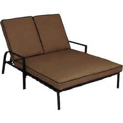 Chaise For Two Braddock Heights Double Chaise Lounge Seats 2 Walmart Com