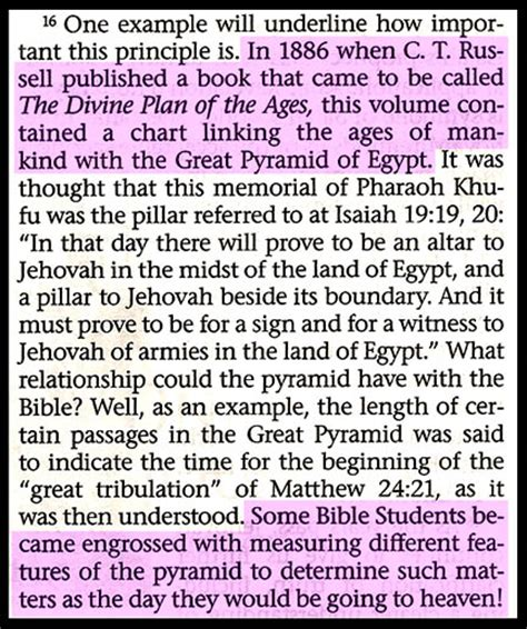 the great apostate in the cult of jehovah s witnesses books six screens of the watchtower pyramidology