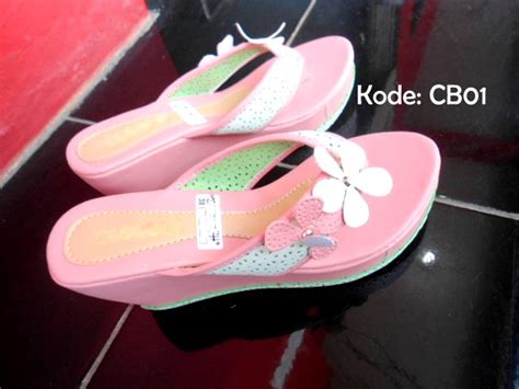 Sandal Wedges Cb01 jual sandal wedges cb01 elstore sepatu bogor