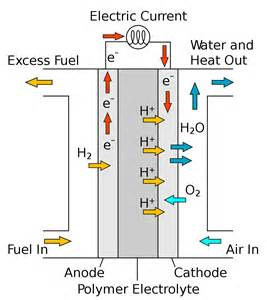Proton Fuel Cell Membraneless Fuel Cells