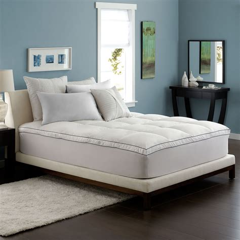 feather beds feather bed with skirt pacific coast bedding