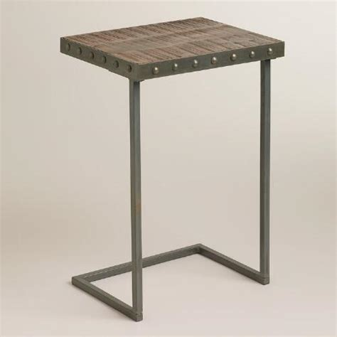 wood plank laptop table world market