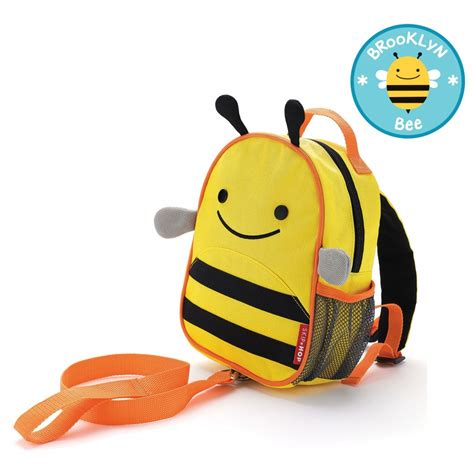 Skiphop Zoo Let Mini Backpack With Rein Bee skip hop zoo let mini backpack with rein bee babyonline