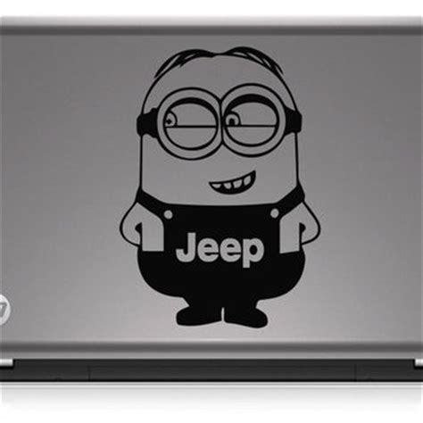 cool decals for jeeps shop minion stickers on wanelo