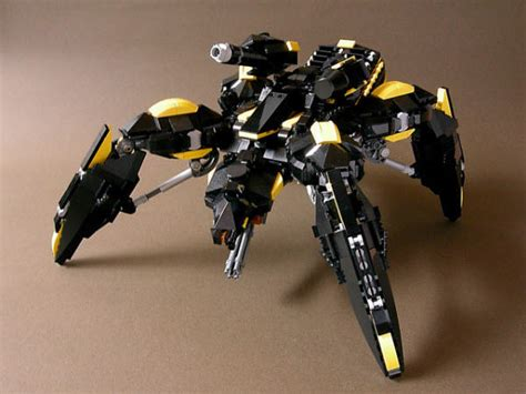 cara membuat robot drone 40 impressive robots built with lego bricks hongkiat