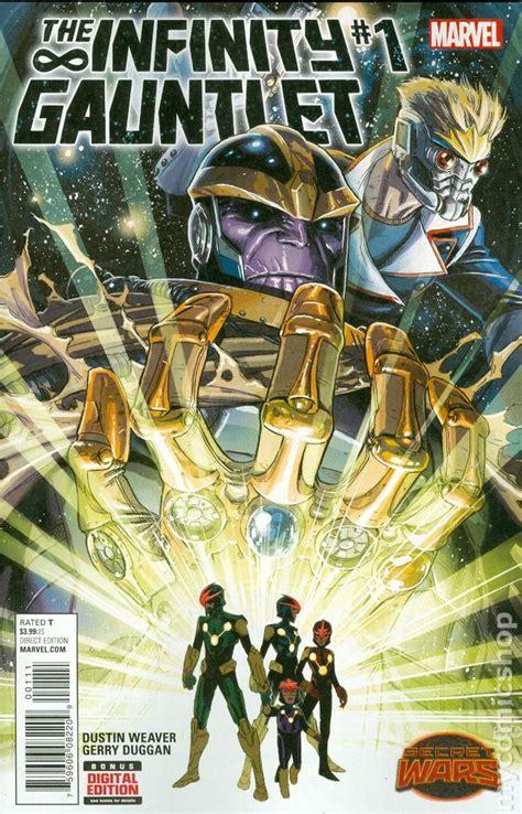 infinity gauntlet series infinity gauntlet 2015 2nd series comic books