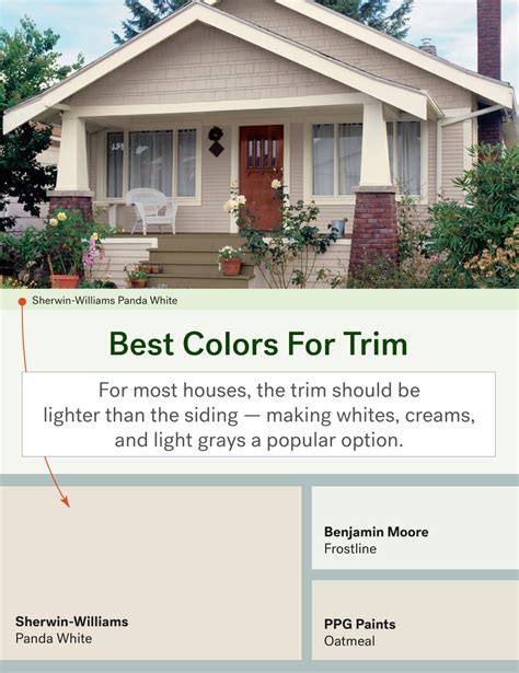 best way to paint exterior trim the most popular exterior paint colors huffpost