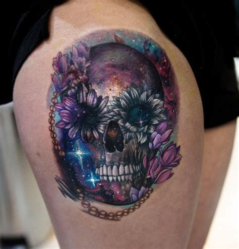 cosmic tattoos 60 creative and cool cosmic designs