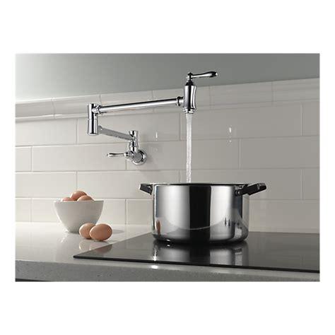1177lf wall mount pot filler faucet traditional