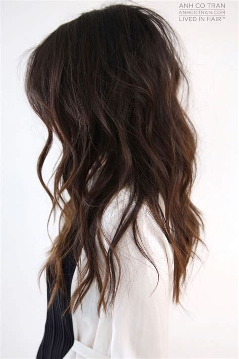 make layers piecy get loose beachy waves with piecey layers anh co tran