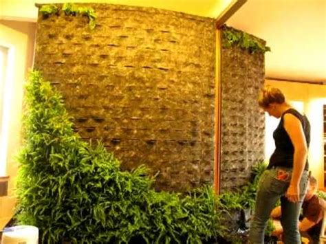 Design Your Own Green Home by Diy How To Making Of Patrick Blanc Style Green Wall