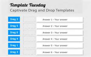 Adobe Captivate Free Templates by Template Tuesday Captivate Drag And Drop Templates