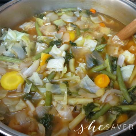 Detox Vegetable Soup Calories by 80 Calorie Vegetable Cleansing Detox Soup Shesaved 174